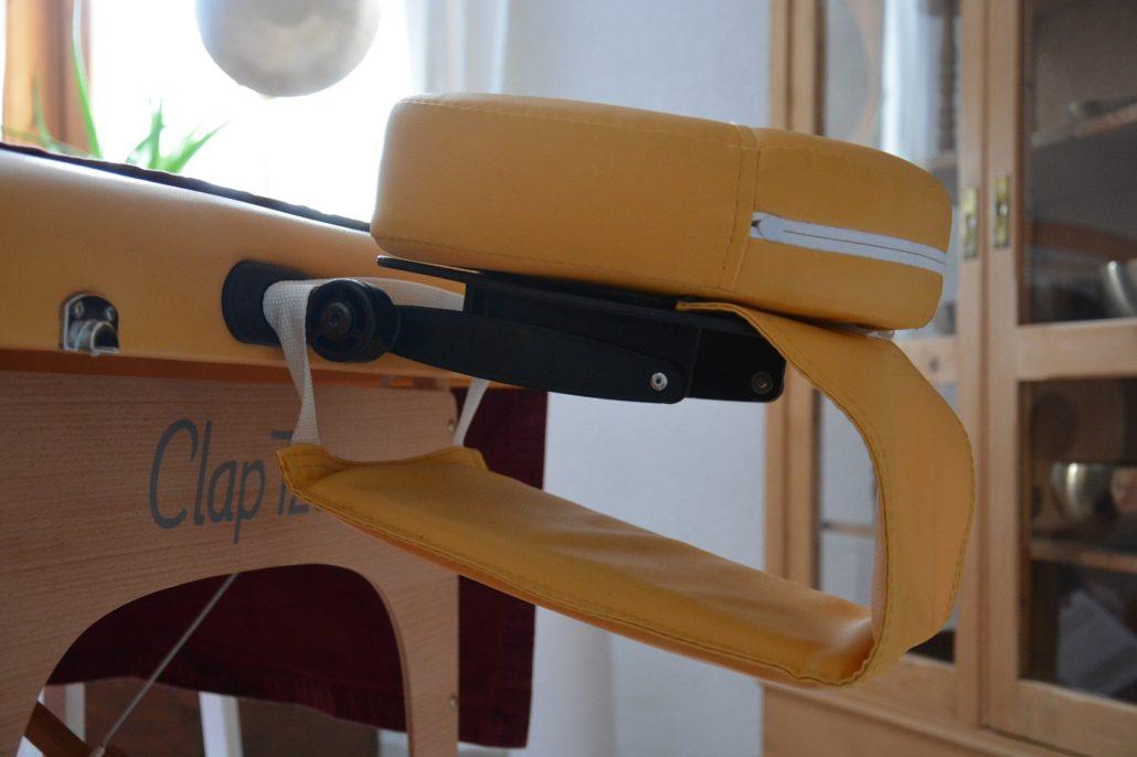 Kopfstütze mit Armablage Clap Tzu Economy Plus Set