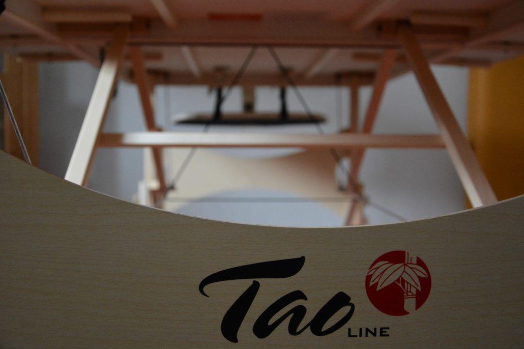 TAOline Klangliege von unten