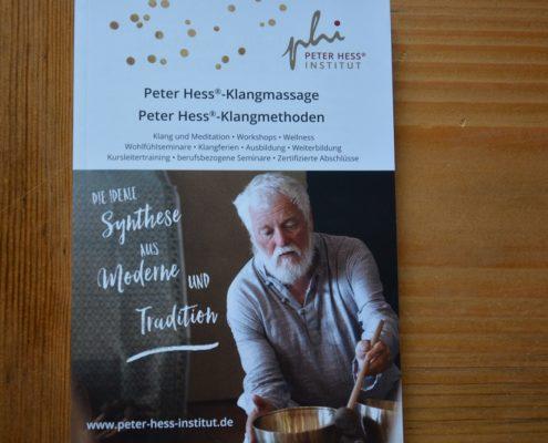 Programmheft Peter Hess Institut