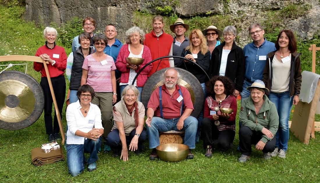 Die Spieler von Klang auf Alt-Trauchburg