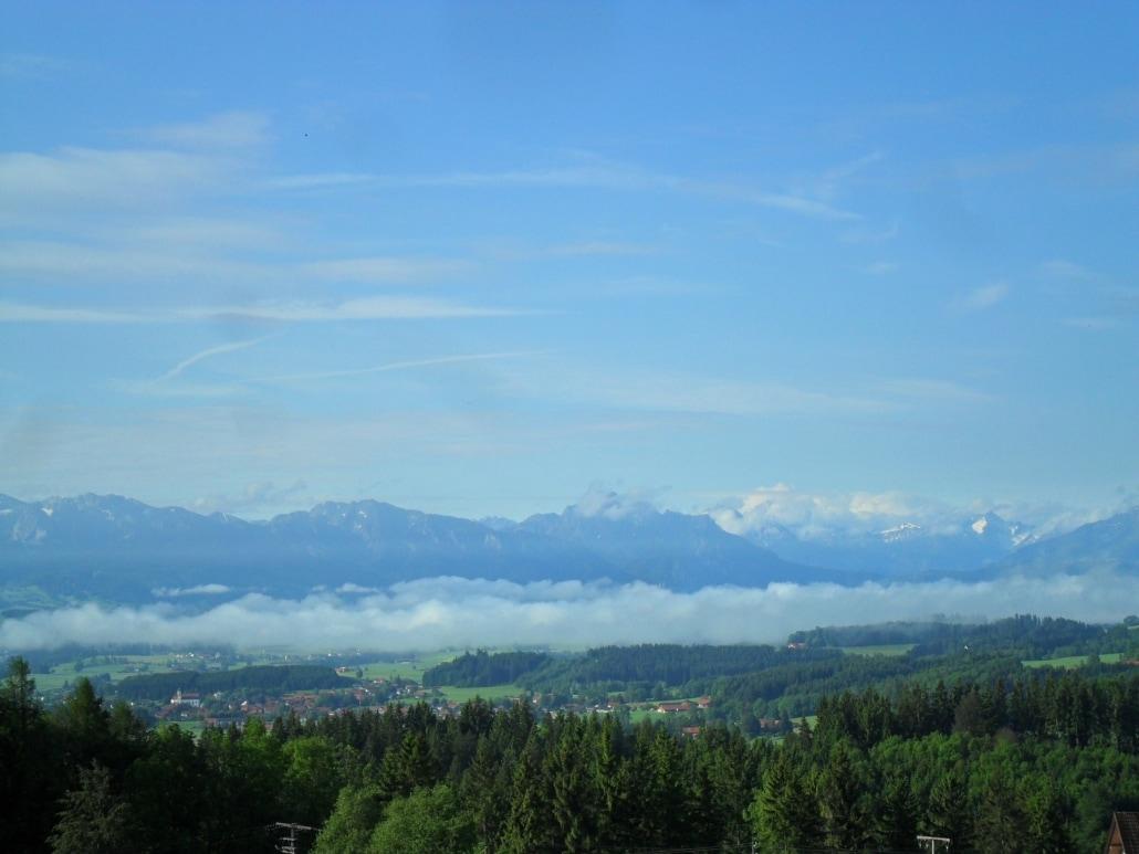 Alpenpanorama Kapelle Weichberg